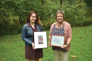 Local woman, Drake Well honored with Greenways Awards