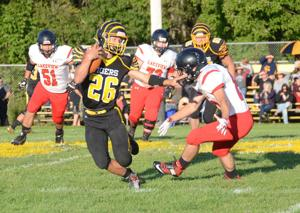 Tigers rout Sailors, 40-0, in season-opener