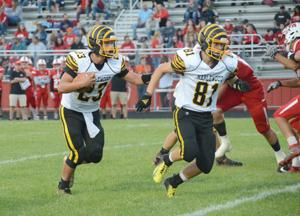Tigers endure slow start, beat Big Reds 39-12