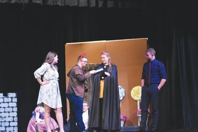 Comedic play hits the stage Monday