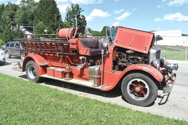 The original Titusville fire engine returns to town
