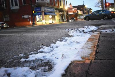 Snow may create slippery conditions, drivers cautioned