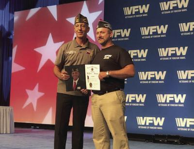 James Brown one of two men to receive All-American Honors at convention