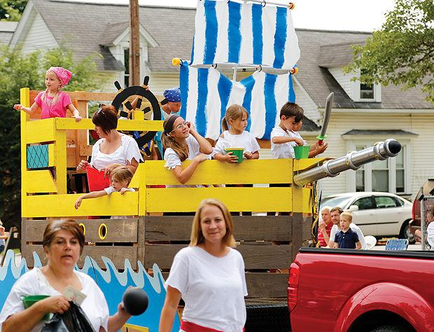 Pirate float