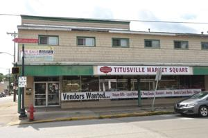 Susan Drake, Bill Wieder open Titusville Market Square at location of former Big and Tall Guys