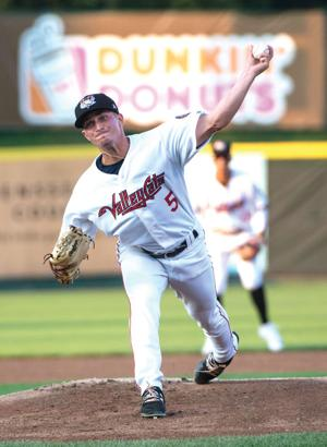"""<p class=""""p1""""><strong>Adam Bleday, a 2013 Titusville High School graduate, went 2-2 with a 3.40 ERA during his first season in the Houston Astros organization. Bleday struck out 50 batters in 45 innings.</strong></p>"""
