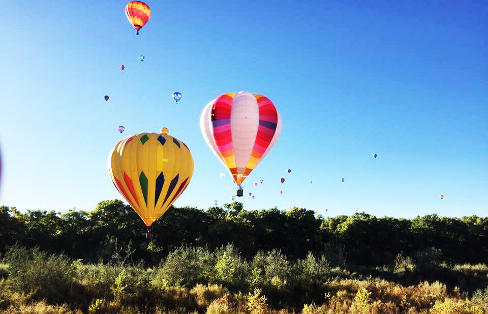 A collection of images from this year's Albuquerque International Balloon Fiesta