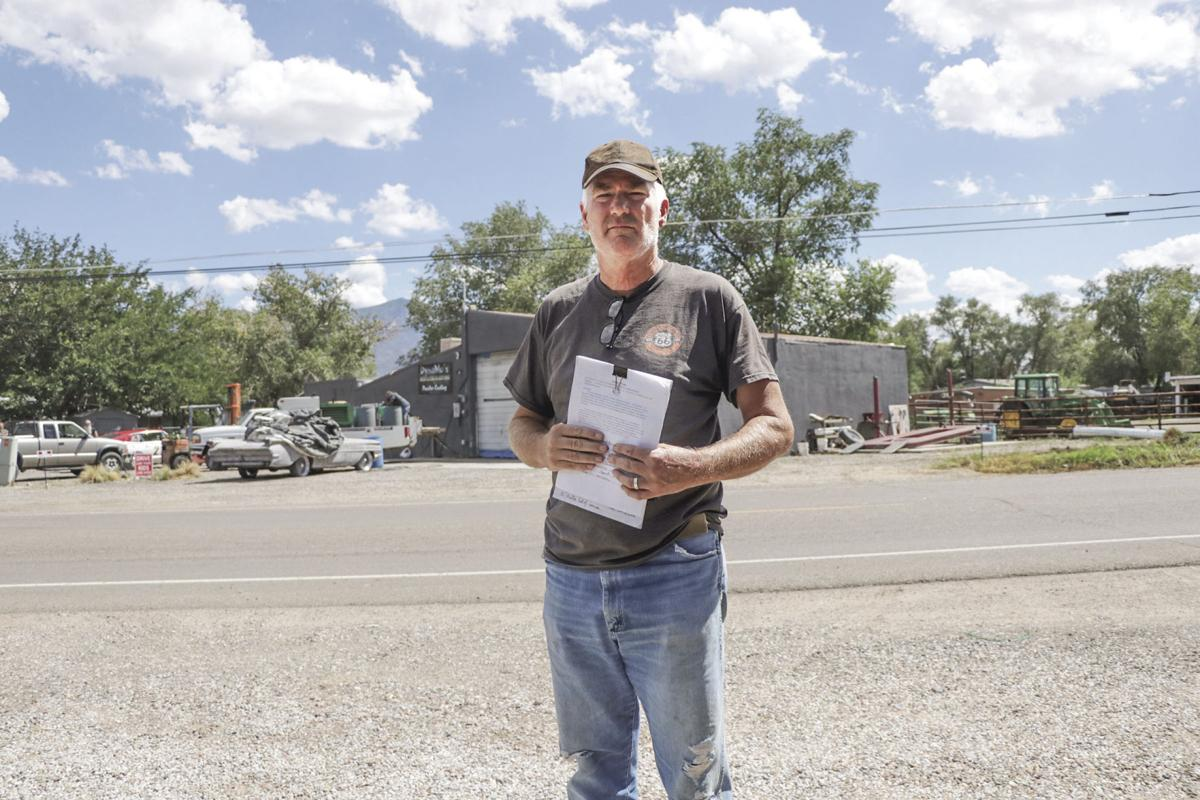 Dust up: Business owner, residents in dispute over noise, sand