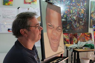 Interpretation of life (Local artist and retired teacher talks about his journey with art)