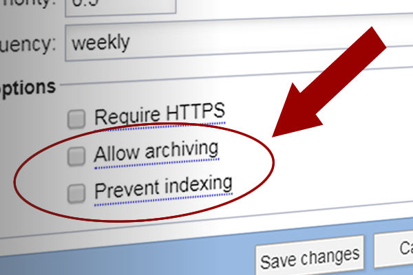 Manage the robots.txt file on a per-URL basis now in the URL map