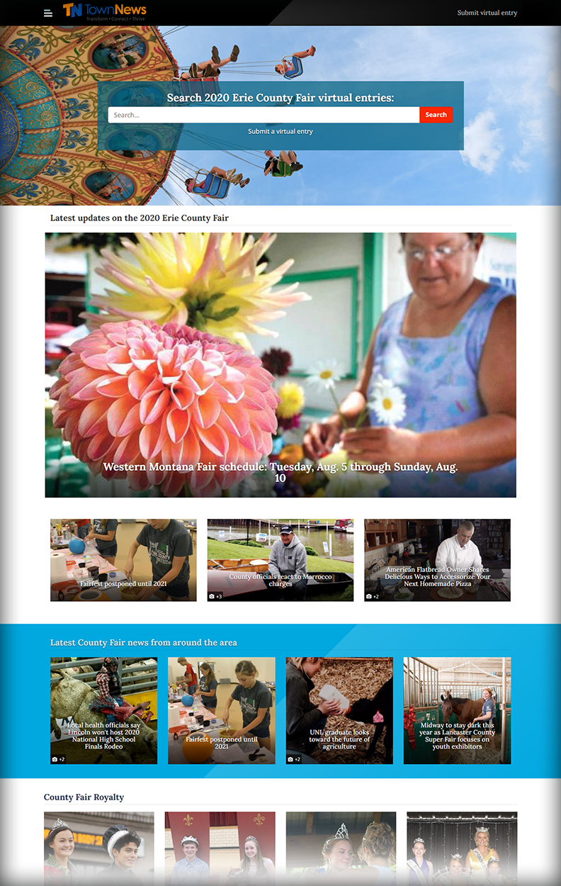 Screenshot: Virtual Fairs