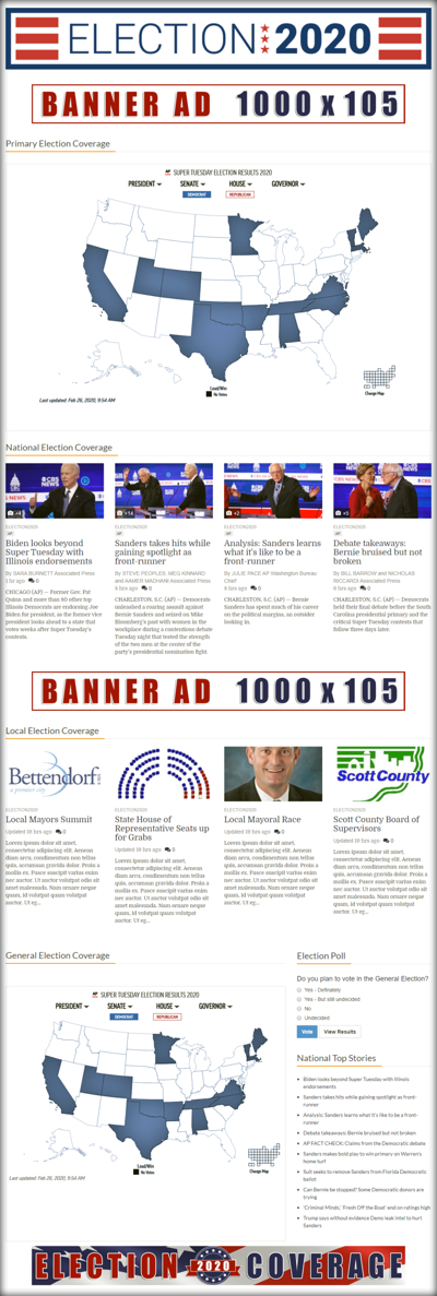 Screenshot: Election 2020