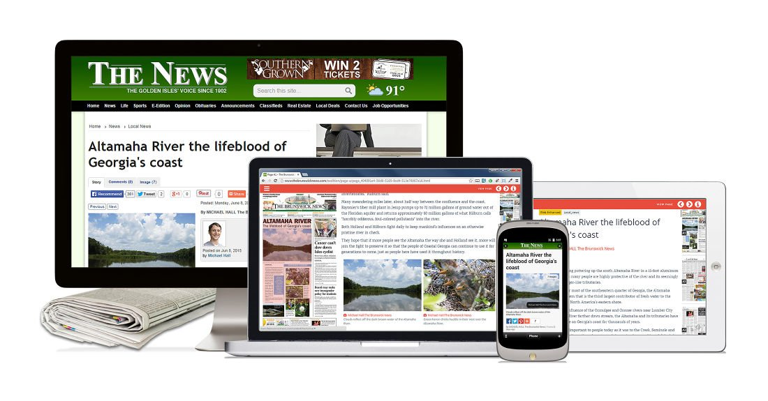 The Brunswick News saves time, boosts productivity with BLOX Total CMS