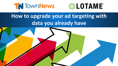 Webinar | How to upgrade your ad targeting with data you already have  - November 2019