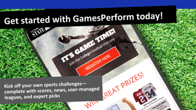 Webinar: Launch your own turnkey pick'em contests with GamesPerform (August 2018)
