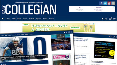 How the Daily Collegian pays for itself with help from TownNews
