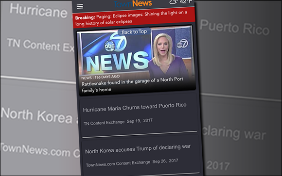 Create headline-style layouts in the BLOX Now App