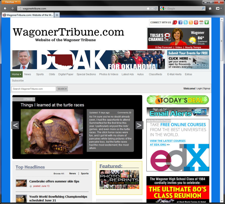 WagonerTribune.com