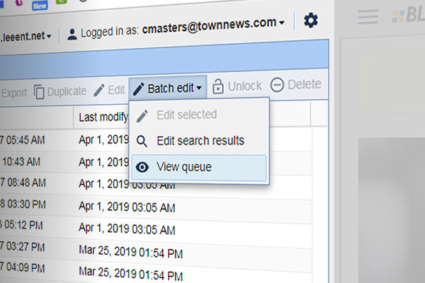 """Batch edit more assets at once with new """"super"""" batch processing"""