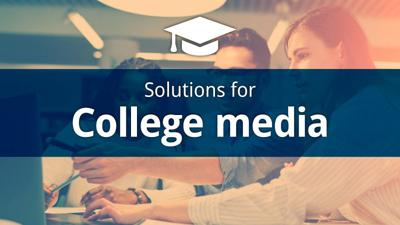 Solutions for college media