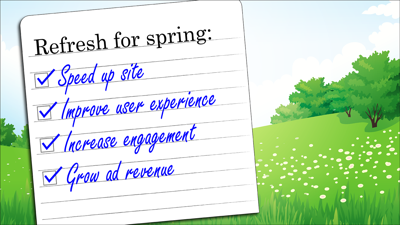 Webinar: Refresh your site for spring with these best practices (March 2018)