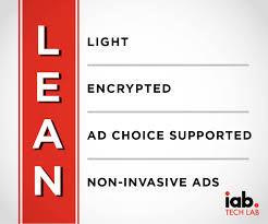 IAB's L.E.A.N ad principles