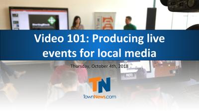 Webinar Video 101