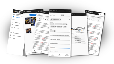 Do even more with BLOX Go mobile