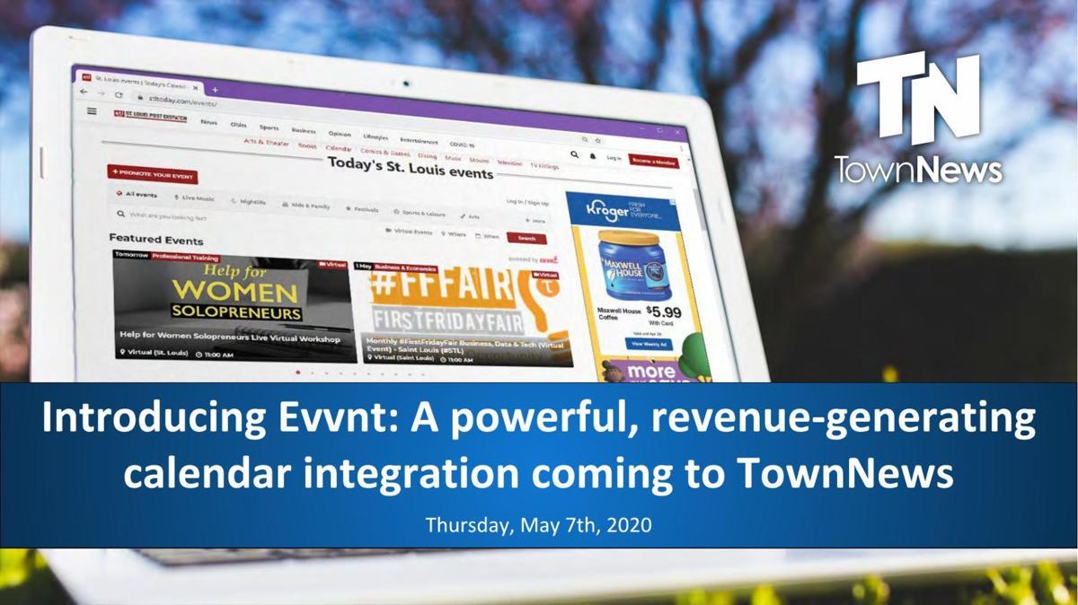 Webinar slide deck: Introducing Evvnt
