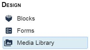 Easily manage static files with the new BLOX Media Library application