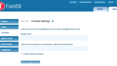 Automatically claim and monetize your videos with Field59-supported YouTube Partner program accounts