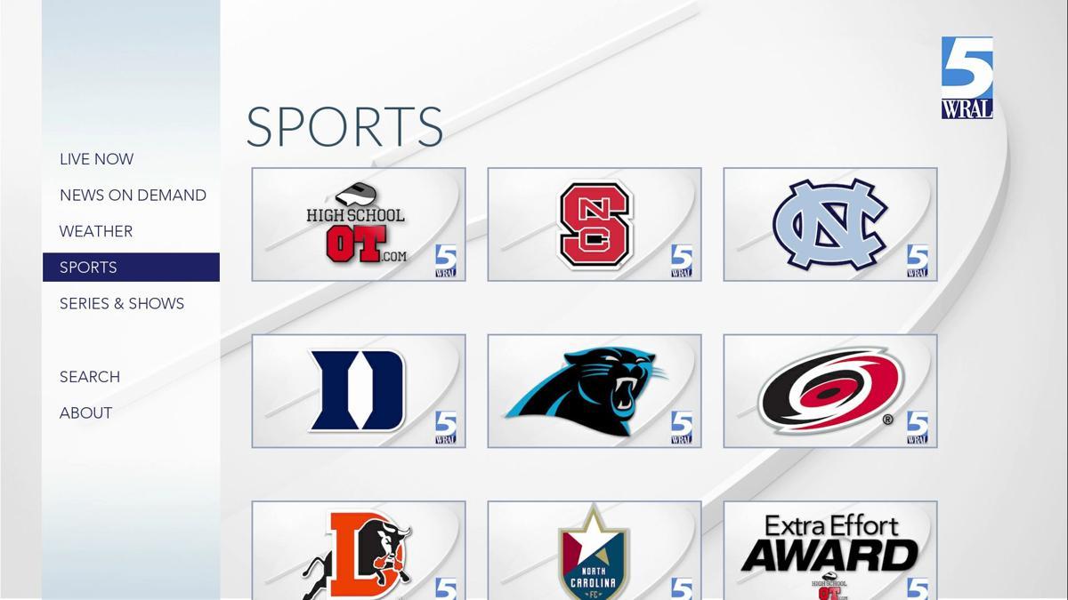 WRAL | Kindle Fire TV | Sports