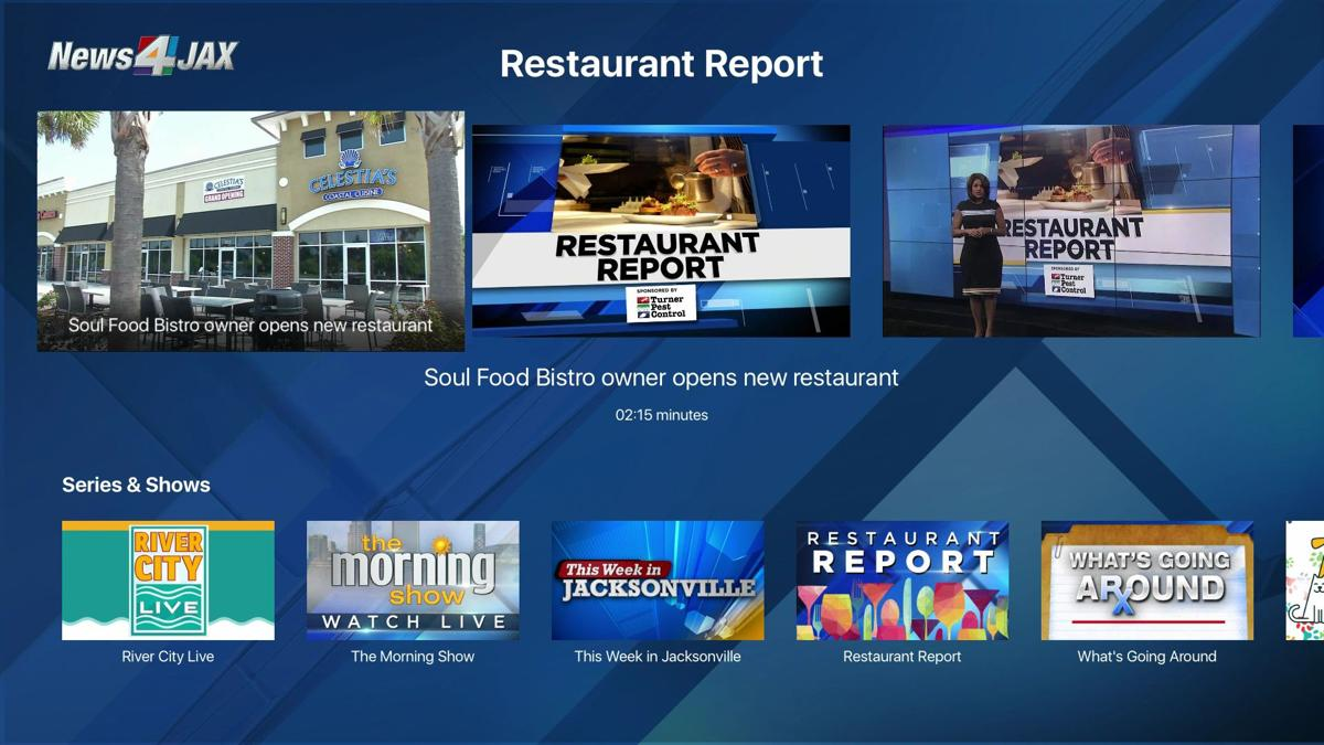 WJXT | Apple TV | Restaurant Report