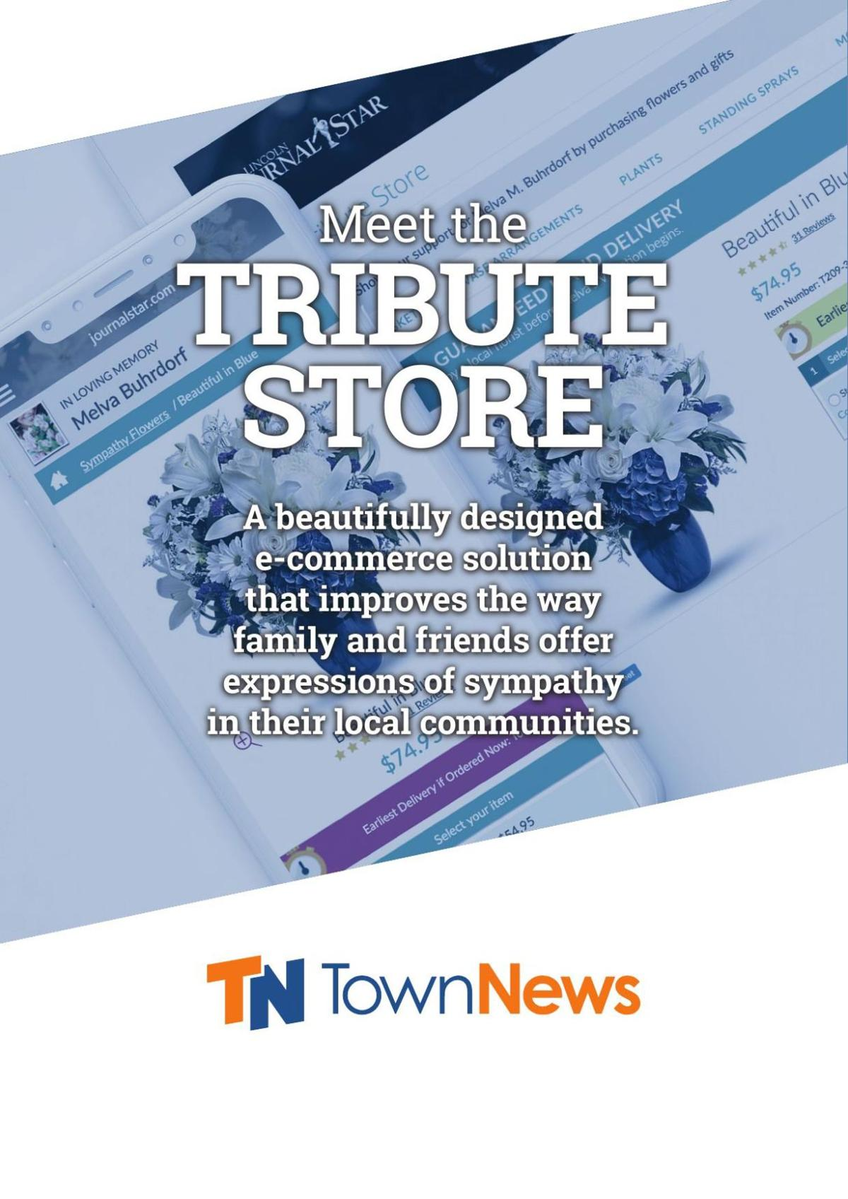 Brochure: Introducing Tribute Store