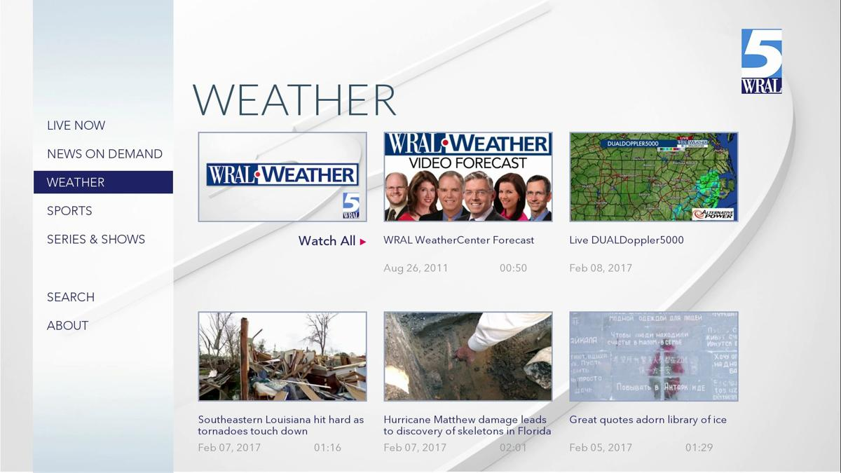 WRAL | Kindle Fire TV | Weather