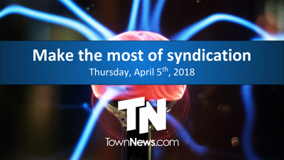 Webinar: Are you making the most of syndication? (April 2018)