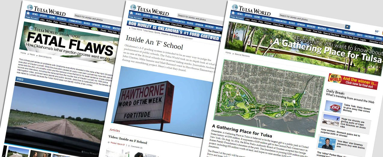 How the Tulsa World boosts stickiness, revenue and searchability with easy, one-stop topic pages