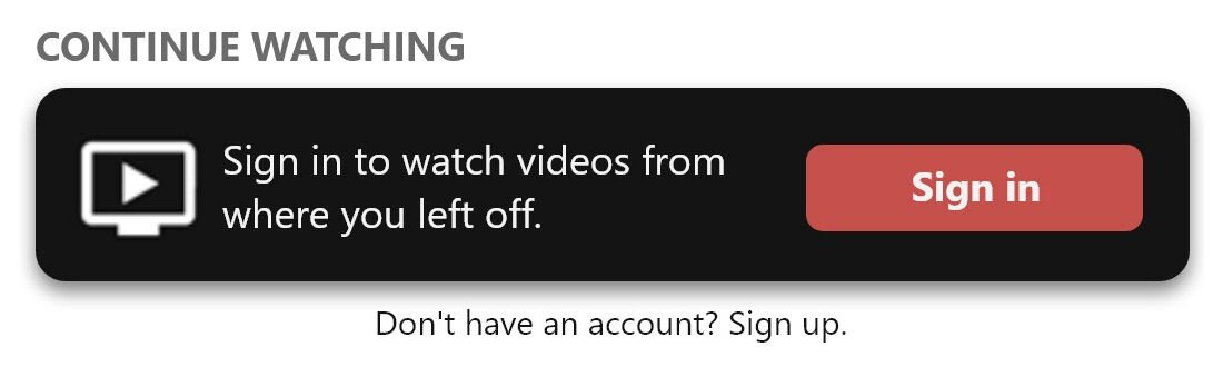 BLOX Now: Sign in to watch videos where you left off