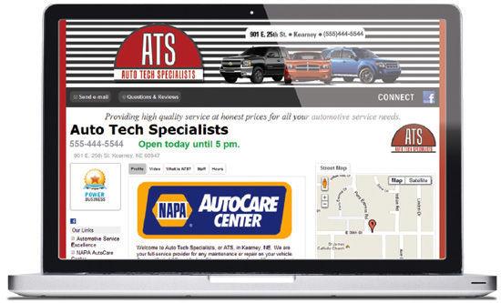 Business Directory screen shot