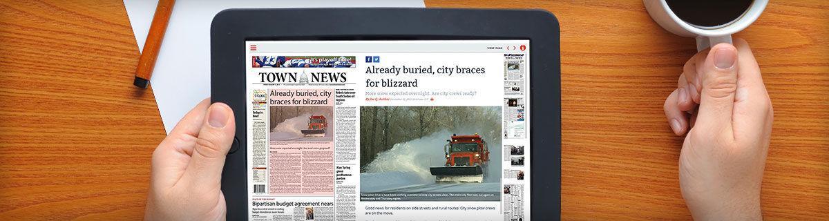 BLOX Live e-Editions header image