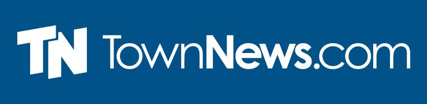 TownNews.com logo: Reverse