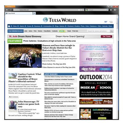 BLOX CMS Showcase: Tulsa World