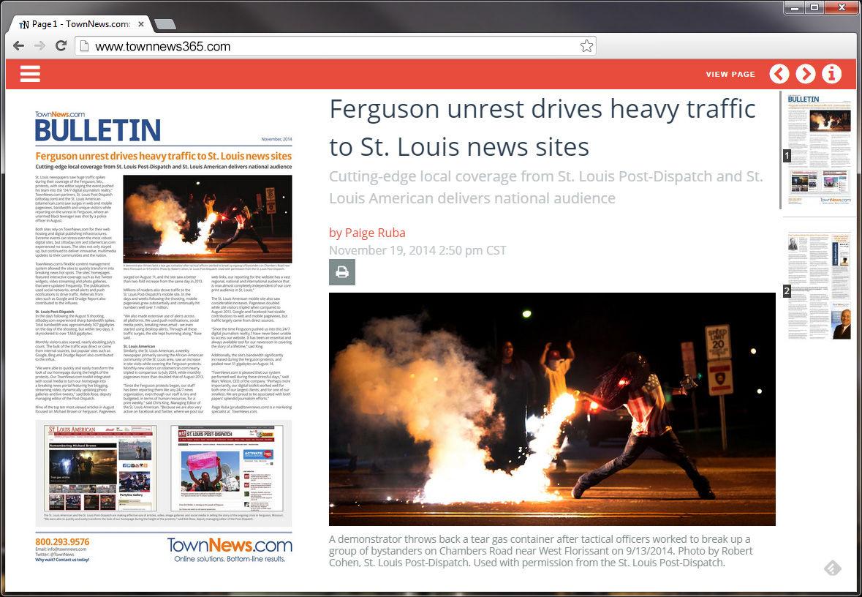 TownNews.com Bulletin (November, 2014)