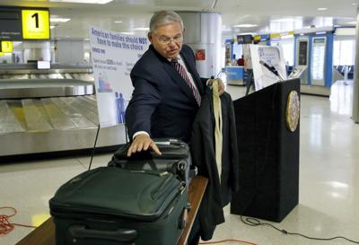 Menendez assails proposed changes to carry-on bag sizes
