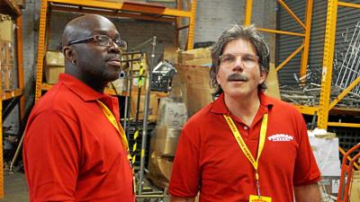 Head of Forman Mills to appear on CBS' 'Undercover Boss' on Sunday