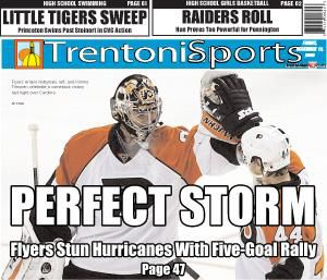 Flyers storm back for win