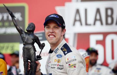 Keselowski races way into 3rd round of NASCAR's playoffs