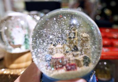 snow globe in Christmas