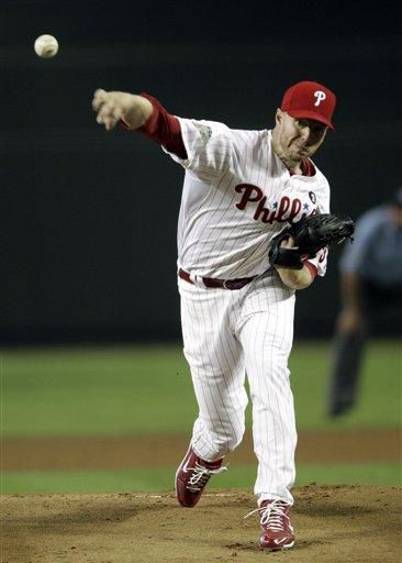 Roy Halladay dominates American League; Cliff Lee sets down five then gives up homer