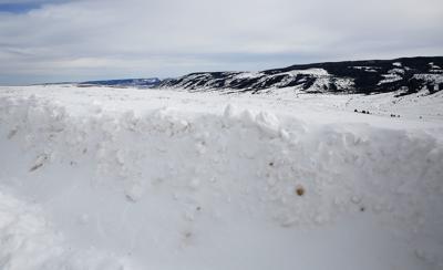 Casper Mountain snow